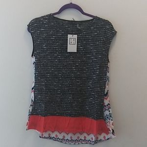 THML open knit top size small
